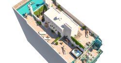 Lägenheter centralt med pool
